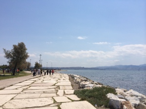 walk along the seaside in Izmir