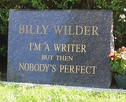 Billy Wilder epitaph
